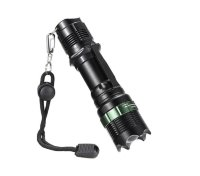 Ручной фонарь GREEN BELT - Super Bright CREE XM-L T6 zoomable