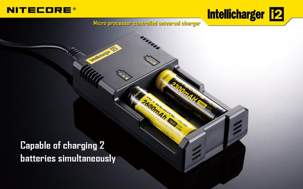 Nitecore intellicharger i2 инструкция