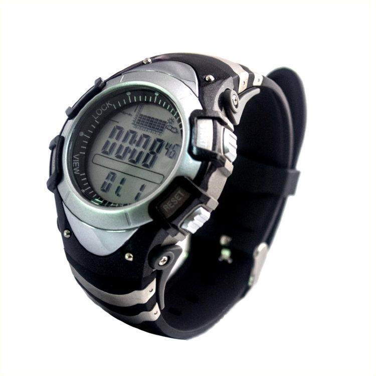 часы для рыбаков с барометром термометром альтиметром водонепроницаемые