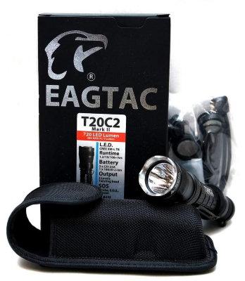 EagleTac T20c2 MKII Cree XM-L U2 720 LED Lumen